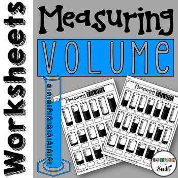 Measuring Volume with Graduated Cylinders Worksheet