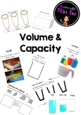 Measuring Volume and Capacity Activity Bundle