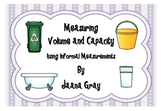 Measuring Volume and Capacity - Informal Units