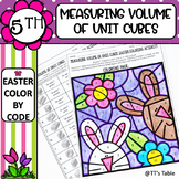 Measuring Volume of Unit Cubes Easter Coloring Activity (1)