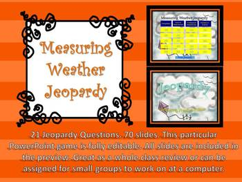 Measuring Weather Jeopardy Game