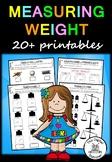 Measuring Weight - 20+ printables (Measurement & Data)