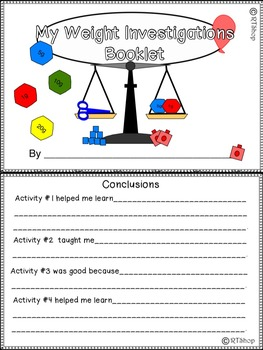 Measuring Weight Activities, Non Standard Units And Standard Units