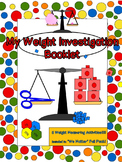 Measuring Weight Activities, Non Standard Units And Standa