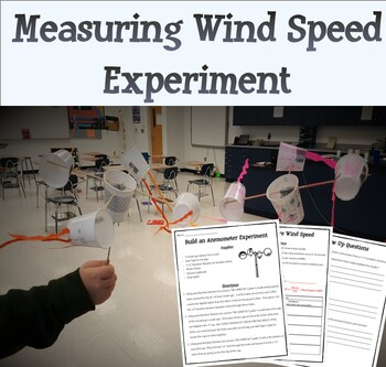 Measuring Wind Speed (Build an Anemometer Experiment)