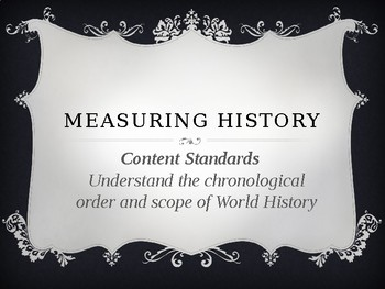 A Measure of World History
