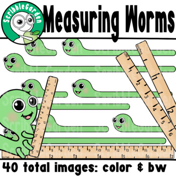 Measuring Worms ClipArt