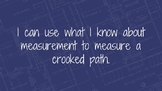 Measuring a Crooked Path Presentation