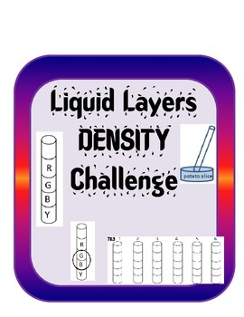 Measuring and Calculating  DENSITY Introduction Lesson and Experiment (4) Bundle