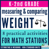 Measuring and Comparing Weight: 8 Practical Activities