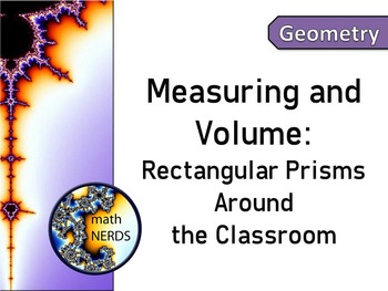 Measuring and Finding Volumes of Rectangular Prisms