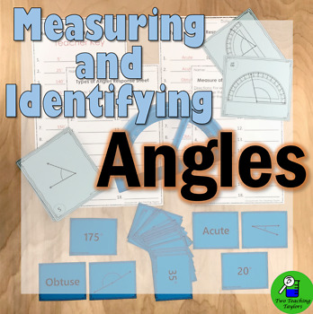 Measuring and Identifying Angles: Task Card Activities