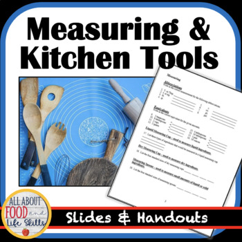 Measuring and Kitchen Equipment Lesson