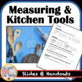 Measuring and Kitchen Tools Lesson