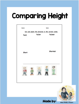 Measuring and comparing height