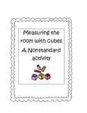 Measuring around the room with cubes