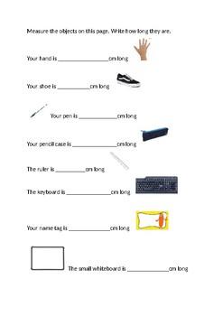 Measuring in CM