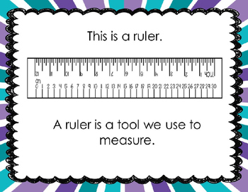 Measuring in Centimeters