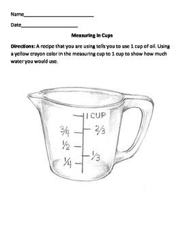Measuring in Cups