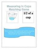 Measuring in Cups Matching Game