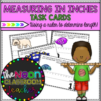 Measuring in Inches Roam the Room Activity
