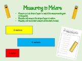 Measuring in Meters