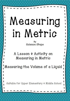 Measuring in Metric - Volume of a Liquid