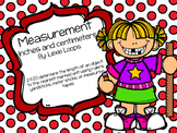 Measuring in inches and centimeters TEKS: 2.9D