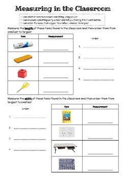 Measuring in the Classroom