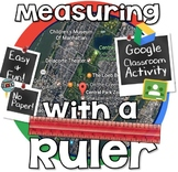 Measuring on a Ruler to the 1/4 (Quarter) Inch - GOOGLE CLASSROOM
