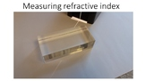 Measuring refractive index - Experiment guide, teacher and