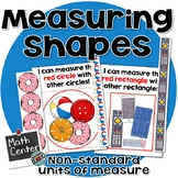 Measuring shapes with non-standard units of Measurement