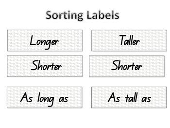 Measuring sort