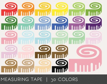 Measuring tape Digital Clipart, Measuring tape Graphics, Measuring tape PNG