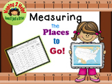 Measuring the Distance in Inches and Centimeters