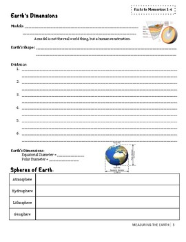 Measuring the Earth Unit Packet