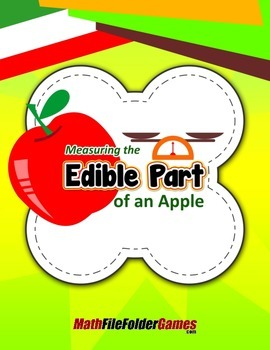 Measuring the Edible Part of an Apple