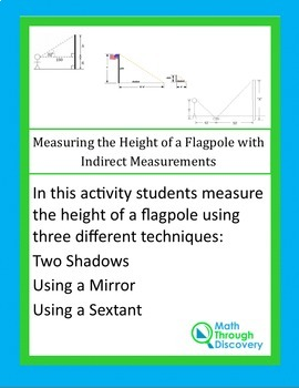 Measuring the Height of a Flagpole using Indirect Measurements