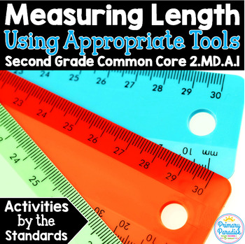 Measuring the Length of an Object:  2.MD.A.1 Common Core Math 2nd Grade