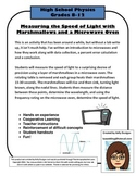 Measuring the Speed of Light: Marshmallows and Microwaves
