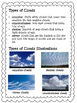 Measuring the Weather: Weather Tools and Cloud Identification