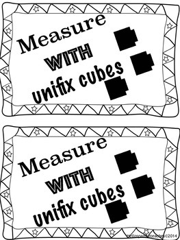 Measuring the room using unified cubes