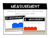 Measuring to the Nearest Inch, Half Inch, and Quarter Inch
