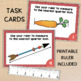 Measuring to the Quarter Inch Powerpoint, Task Cards, & Wo