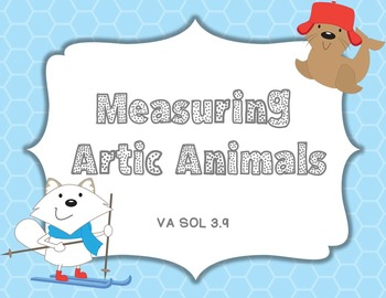 Measuring to the nearest 1/2 inch and Centimeter Artic Animals