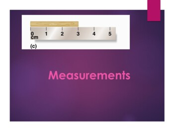 Measuring w/Significant Figures, Math with Sig Figs, & Scientific Notation PPT