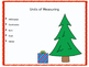 Measuring with Christmas