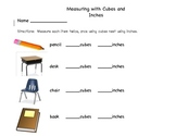Measuring with Cubes and Inches