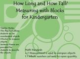 Measuring with Kindergarten