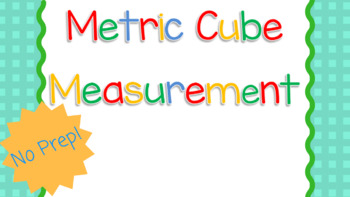 Measuring with Metric Cubes
